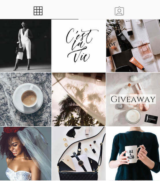 Instagram content creation services social media feed